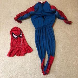Spiderman Costumes - Spider-Man boys custom size S
